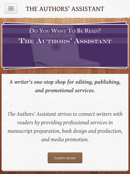 the authors' assistant screenshot